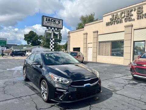 2019 Kia Forte for sale at JACK'S MOTOR COMPANY in Van Buren AR