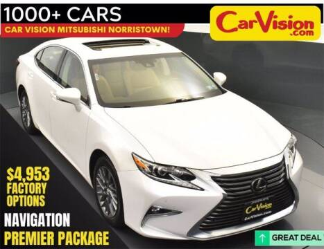 2018 Lexus ES 350 for sale at Car Vision Buying Center in Norristown PA