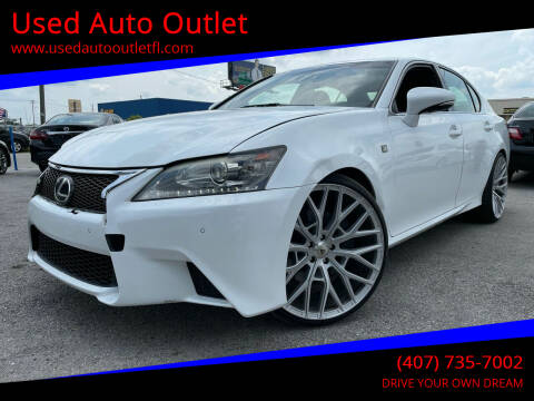 2015 Lexus GS 350 for sale at Used Auto Outlet in Orlando FL