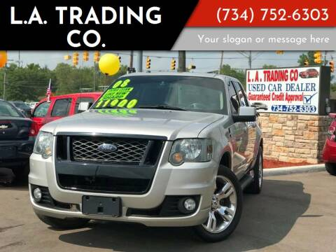 2008 Ford Explorer Sport Trac for sale at L.A. Trading Co. Woodhaven in Woodhaven MI