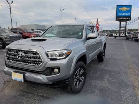 2017 Toyota Tacoma for sale at Strosnider Chevrolet in Hopewell VA