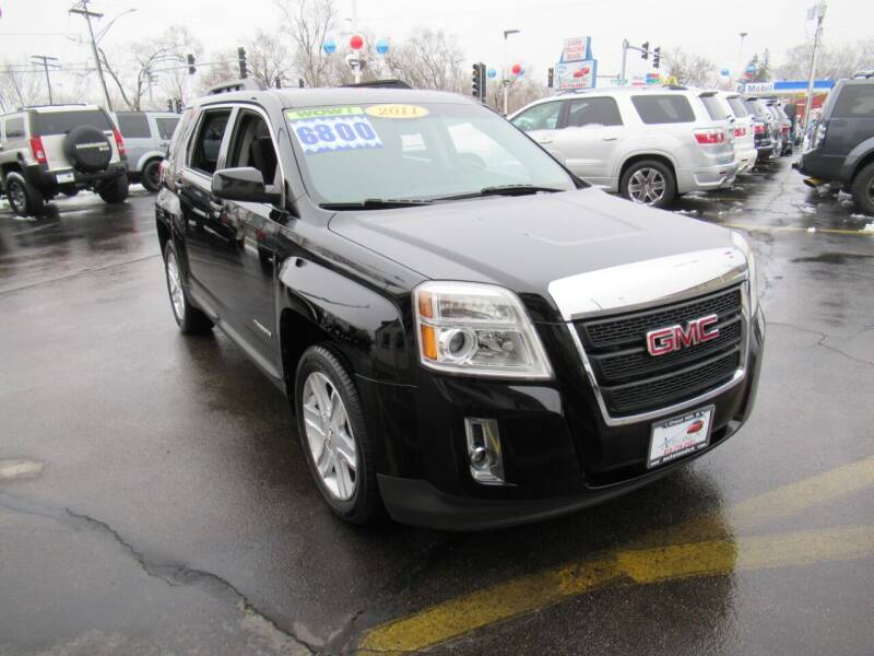 2011 GMC Terrain for sale at Auto Land Inc in Crest Hill IL