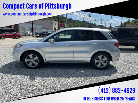 2007 Acura RDX for sale at Compact Cars of Pittsburgh in Pittsburgh PA
