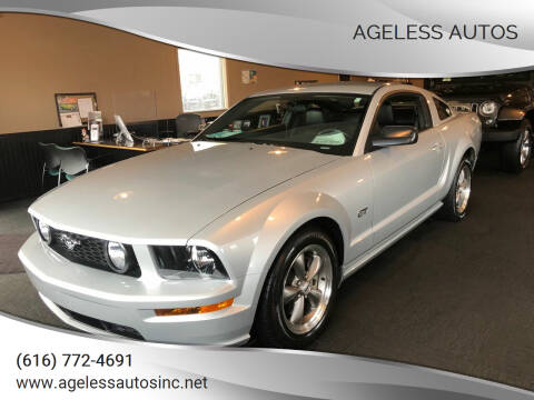 2006 Ford Mustang for sale at Ageless Autos in Zeeland MI