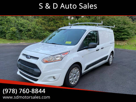 2014 Ford Transit Connect Cargo for sale at S & D Auto Sales in Maynard MA