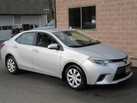 2015 Toyota Corolla for sale at Advantage Automobile Investments, Inc in Littleton MA