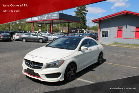 2015 Mercedes-Benz CLA for sale at Deals N Wheels 306 in Burlington NJ