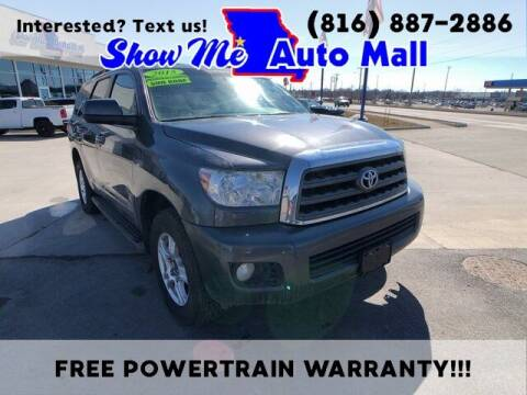 2015 Toyota Sequoia for sale at Show Me Auto Mall in Harrisonville MO