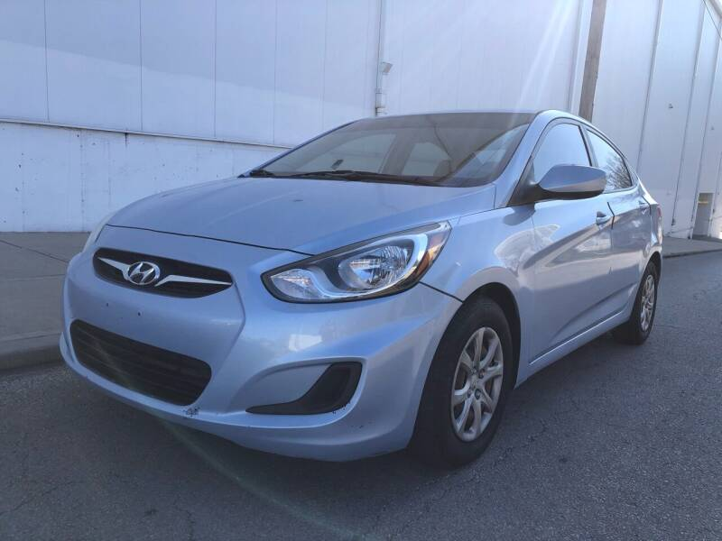 2014 Hyundai Accent for sale at WALDO MOTORS in Kansas City MO