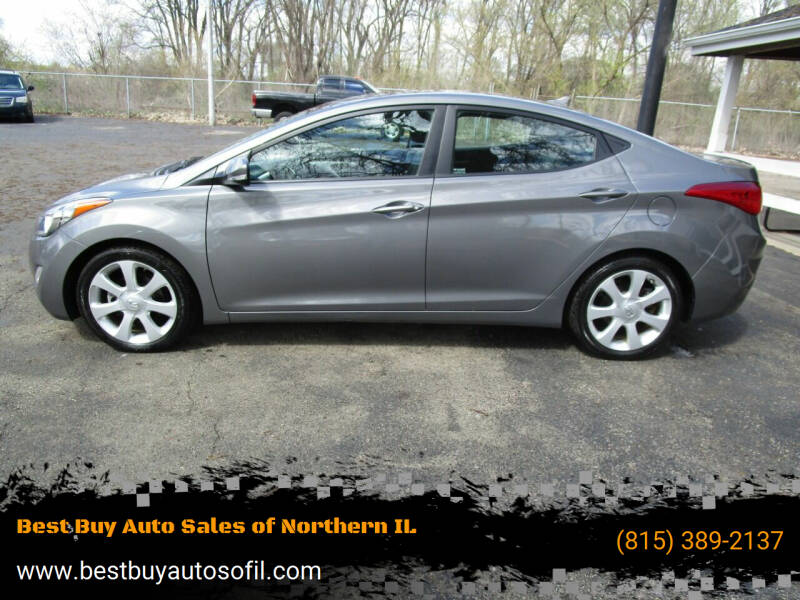 2013 Hyundai Elantra for sale at Best Buy Auto Sales of Northern IL in South Beloit IL