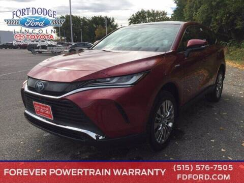 2021 Toyota Venza for sale at Fort Dodge Ford Lincoln Toyota in Fort Dodge IA