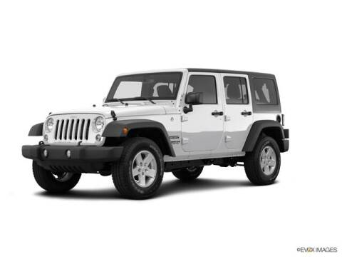 2016 Jeep Wrangler Unlimited for sale at TETERBORO CHRYSLER JEEP in Little Ferry NJ