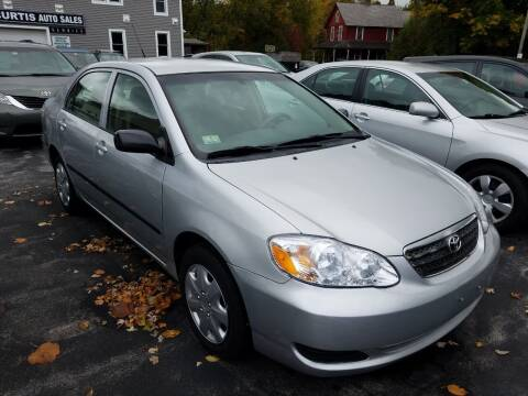 2006 Toyota Corolla for sale at CURTIS AUTO SALES in Pittsford VT