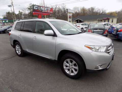 2011 Toyota Highlander for sale at Comet Auto Sales in Manchester NH