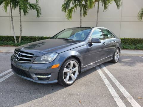 2014 Mercedes-Benz C-Class for sale at Keen Auto Mall in Pompano Beach FL