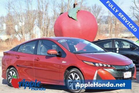 2018 Toyota Prius Prime for sale at APPLE HONDA in Riverhead NY