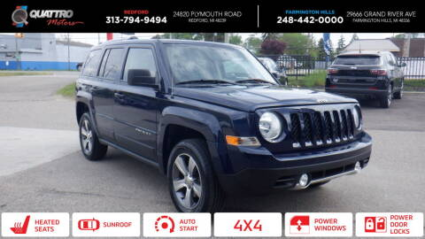 2017 Jeep Patriot for sale at Quattro Motors 2 - 1 in Redford MI