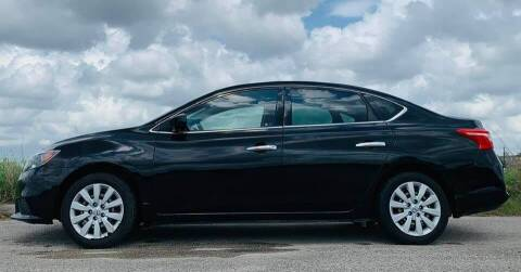 2016 Nissan Sentra for sale at Palmer Auto Sales in Rosenberg TX