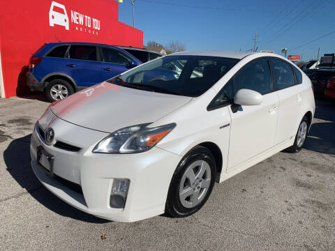 2011 Toyota Prius for sale at New To You Motors in Tulsa OK