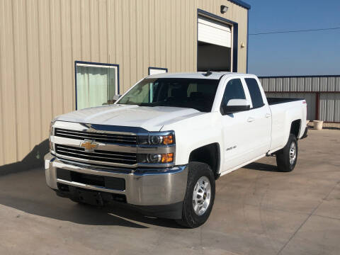 2018 Chevrolet Silverado 2500HD for sale at TEXAS CAR PLACE in Lubbock TX