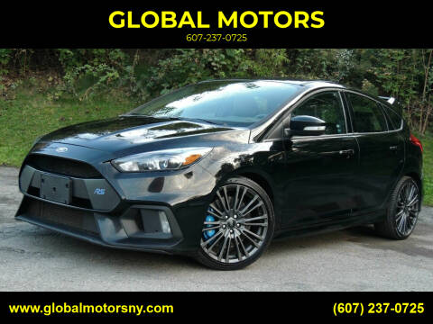 2016 Ford Focus for sale at GLOBAL MOTORS in Binghamton NY