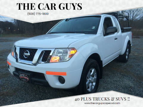 2012 Nissan Frontier for sale at The Car Guys in Hyannis MA