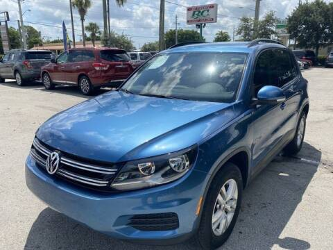 2017 Volkswagen Tiguan for sale at BC Motors in West Palm Beach FL