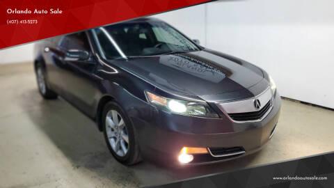 2012 Acura TL for sale at Orlando Auto Sale in Orlando FL