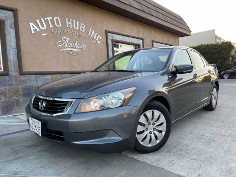2008 Honda Accord for sale at Auto Hub, Inc. in Anaheim CA