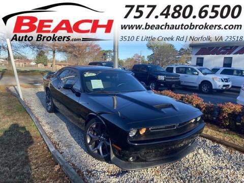 2019 Dodge Challenger for sale at Beach Auto Brokers in Norfolk VA