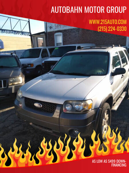 2006 Ford Escape for sale at Autobahn Motor Group in Willow Grove PA