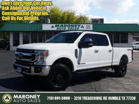 2020 Ford F-250 Super Duty for sale at Maroney Auto Sales in Humble TX