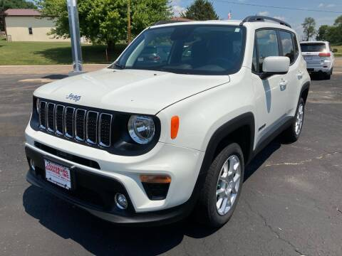 2019 Jeep Renegade for sale at Louisburg Garage, Inc. in Cuba City WI