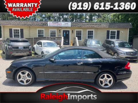 2005 Mercedes-Benz CLK for sale at Raleigh Imports in Raleigh NC