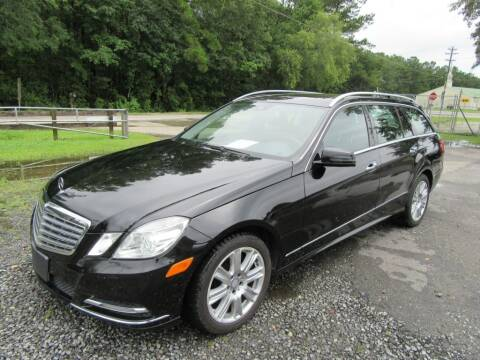 2013 Mercedes-Benz E-Class for sale at Bullet Motors Charleston Area in Summerville SC