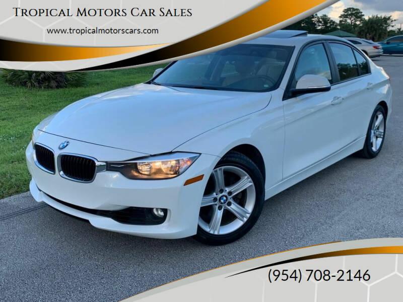 2013 BMW 3 Series for sale at Tropical Motors Car Sales in Deerfield Beach FL