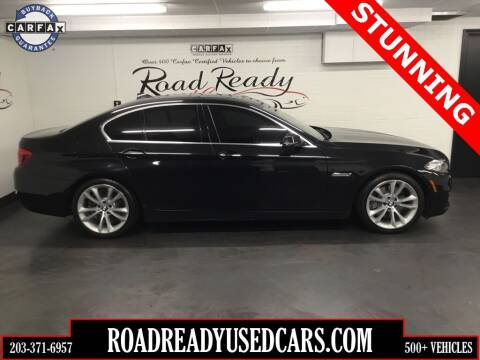 2015 BMW 5 Series for sale at Road Ready Used Cars in Ansonia CT