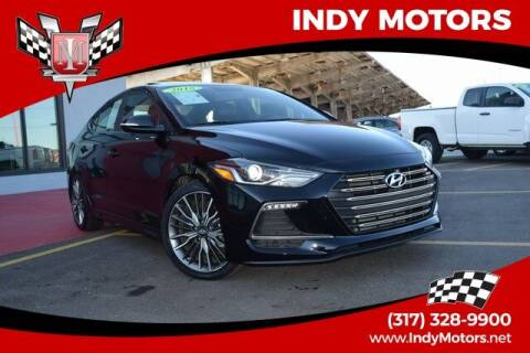 2018 Hyundai Elantra for sale at Indy Motors Inc in Indianapolis IN
