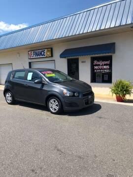 2013 Chevrolet Sonic for sale at BRIDGEPORT MOTORS in Morganton NC