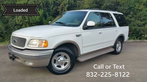 2000 Ford Expedition for sale at Houston Auto Preowned in Houston TX