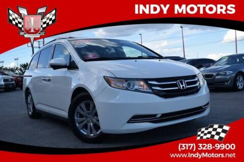 2014 Honda Odyssey for sale at Indy Motors Inc in Indianapolis IN