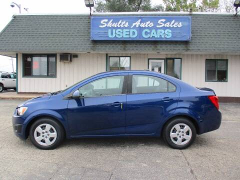 2014 Chevrolet Sonic for sale at SHULTS AUTO SALES INC. in Crystal Lake IL