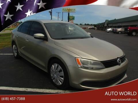 2012 Volkswagen Jetta for sale at Auto World in Carbondale IL
