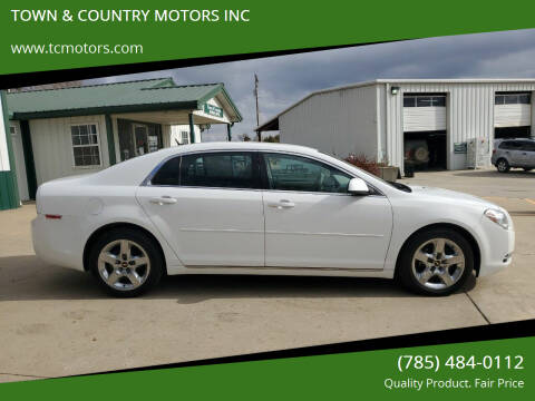 2010 Chevrolet Malibu for sale at TOWN & COUNTRY MOTORS INC in Meriden KS