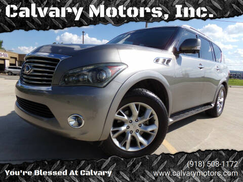2011 Infiniti QX56 for sale at Calvary Motors, Inc. in Bixby OK
