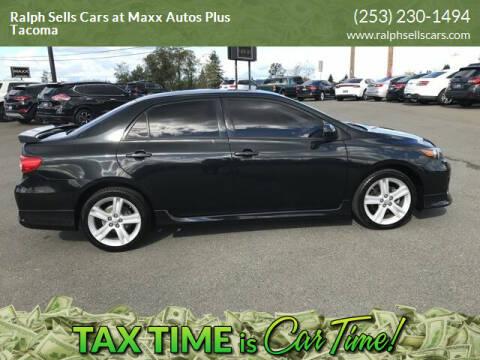2013 Toyota Corolla for sale at Ralph Sells Cars at Maxx Autos Plus Tacoma in Tacoma WA