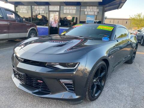 2017 Chevrolet Camaro for sale at Cow Boys Auto Sales LLC in Garland TX