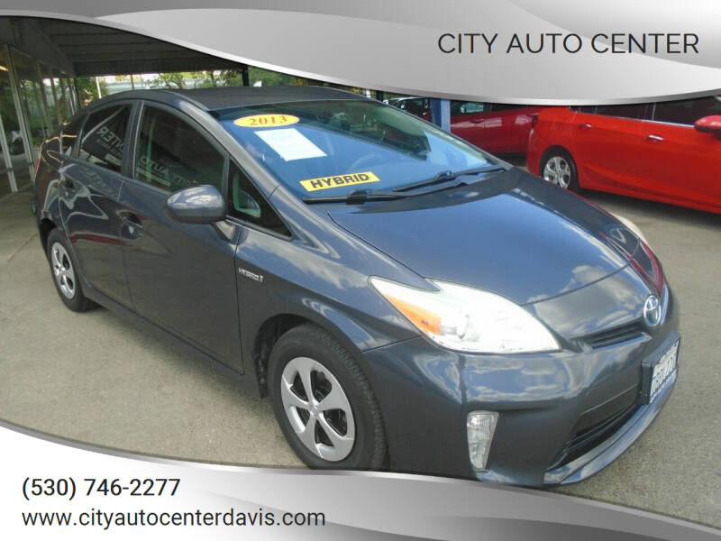 2013 Toyota Prius for sale at City Auto Center in Davis CA