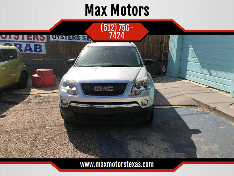 2011 GMC Acadia for sale at Max Motors in Corpus Christi TX