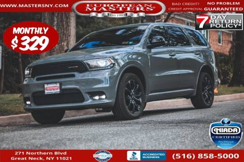 2019 Dodge Durango for sale at European Masters in Great Neck NY